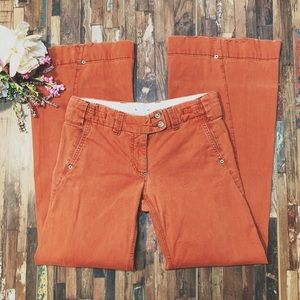 Cidra ANTHROPOLOGIE | Rust Orange Wide Leg Pants 4